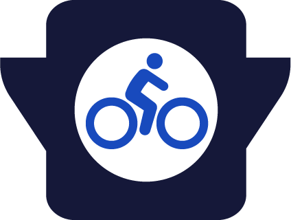 cycling areas icon