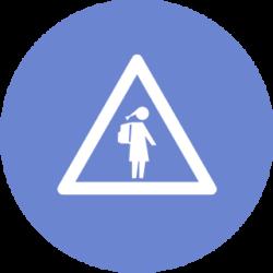 school zone icon