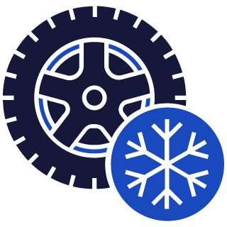 Winter tires icon