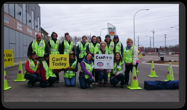 CarFit members group photo